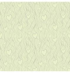 Valentine seamless pattern in retro subdued tints vector