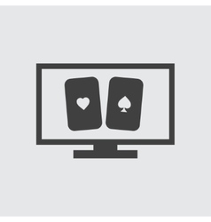 Cards icon vector image vector image