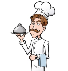Chef vector image