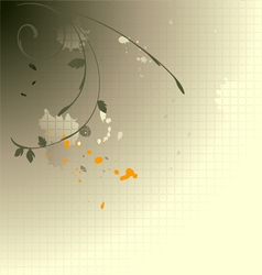 Meadow weeds and dandelions silhouettes vector image vector image