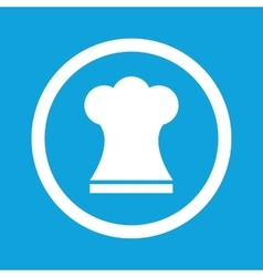 Chef hat sign icon vector
