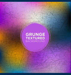 Grunge background in egyptian blue and purple vector