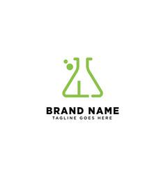 Initial l molecular dna logo design template icon vector