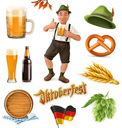 Munich Beer Festival Oktoberfest the can also be vector