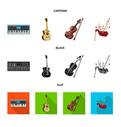 Music and tune icon vector