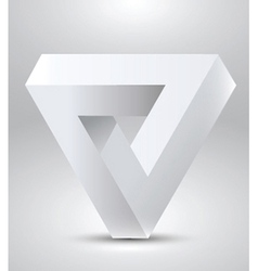 Penrose triangle vector