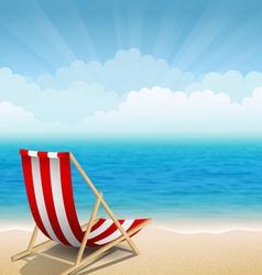 Sunny coast vector image