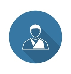 Orthopedics Icon Flat Design vector image