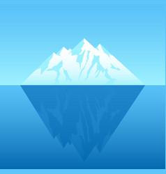 An iceberg vector
