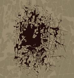 Broken surface texture vector