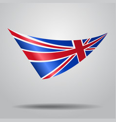 Great britain flag background vector