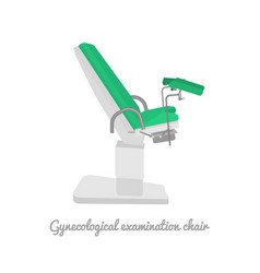 gynecological examination chair vector image