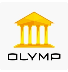 Olympus logo template vector image