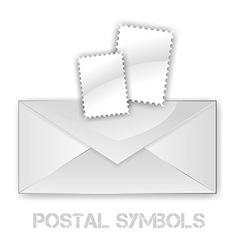Postage Symbols vector