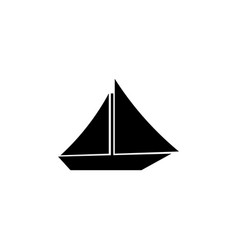 ship icon symbol eps10 vector image