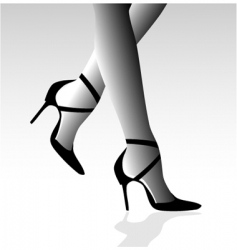 Stiletto heels vector