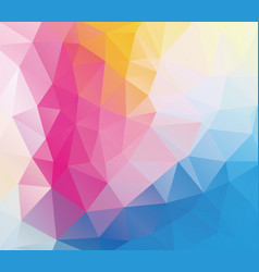 triangle mosaic abstrat background vector image