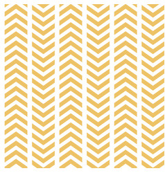 Yellow white broken chevron seamless vector