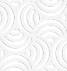 White paper 3d four stripes circle pin will vector