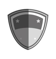 team frame emblem icon vector image vector image