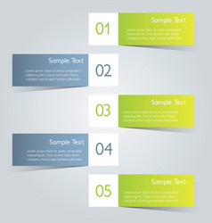 infographic banner template for website design vector image vector image