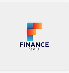 Accounting and financial logo template vector