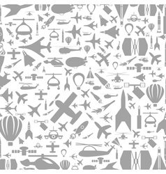 Aircraft a background vector image