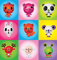 animals Friends vector image