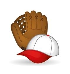 Baseball design sport and supplies vector
