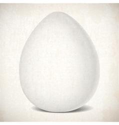 Easter egg color pattern chiken vector image
