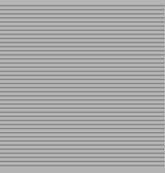 Grey seamless horizontal stripe pattern background vector