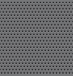 metal plate grid texture vector image