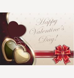 Retro valentines day background vector