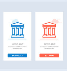 user bank cash blue and red download and buy now vector image