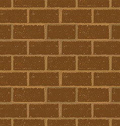 Brick wall seamless in grunge style vector