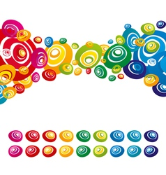 color background vector image vector image