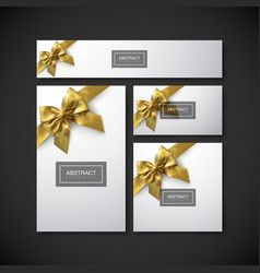 set of design elements for holiday package design vector image vector image