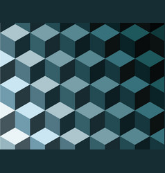 Abstract background tridimensional cubes optical vector