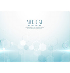 Abstract medical science background concept vector