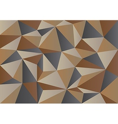 Brown Camouflage Polygon Background vector