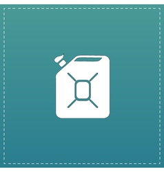 Jerrycan oil icon vector image vector image