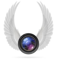 Photography inspired vector image