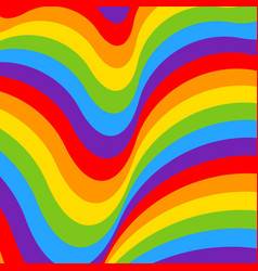 rainbow opt art background seamless pattern vector image