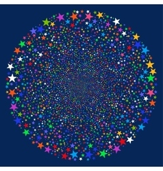 Star Salute Sphere vector