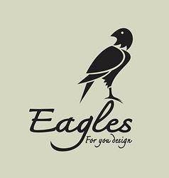 Eagles design vector