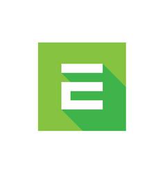 E letter logo digital e logo icon vector