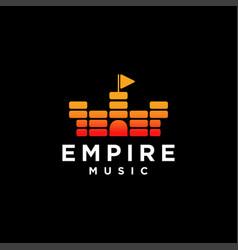 empire music logo vector image