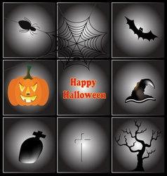 Happy Halloween icon vector