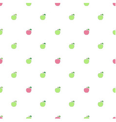 Seamless pattern with cartoon green and pink vector