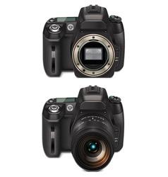 slr camera xxl icon vector image